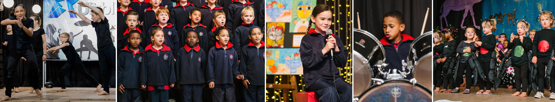Applewood introduces children to a range of visual arts, music and dramatic arts